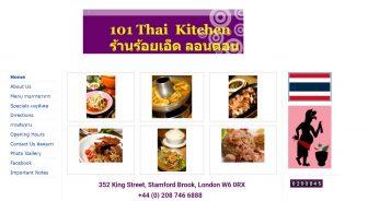 101 Thai Kitchen Restaurant