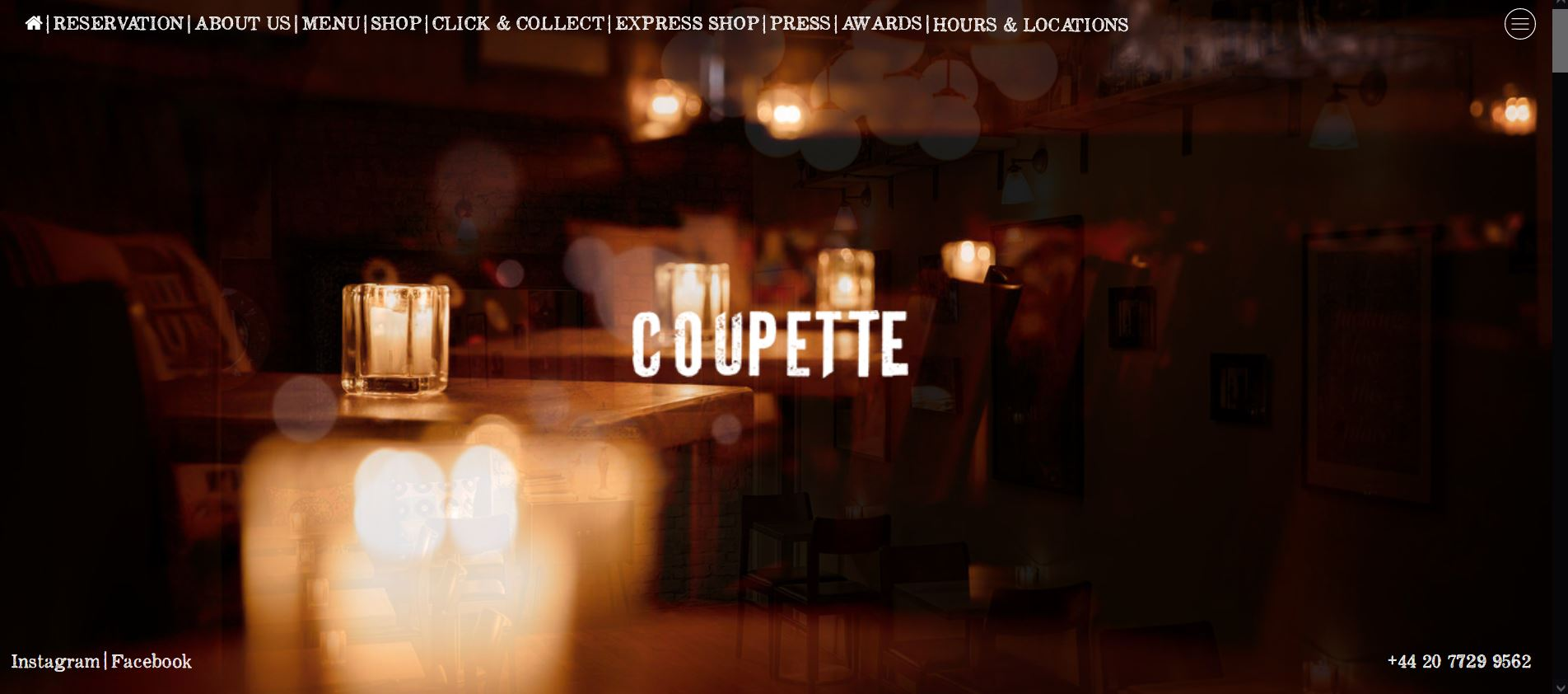 COUPETTE BETHNAL GREEN