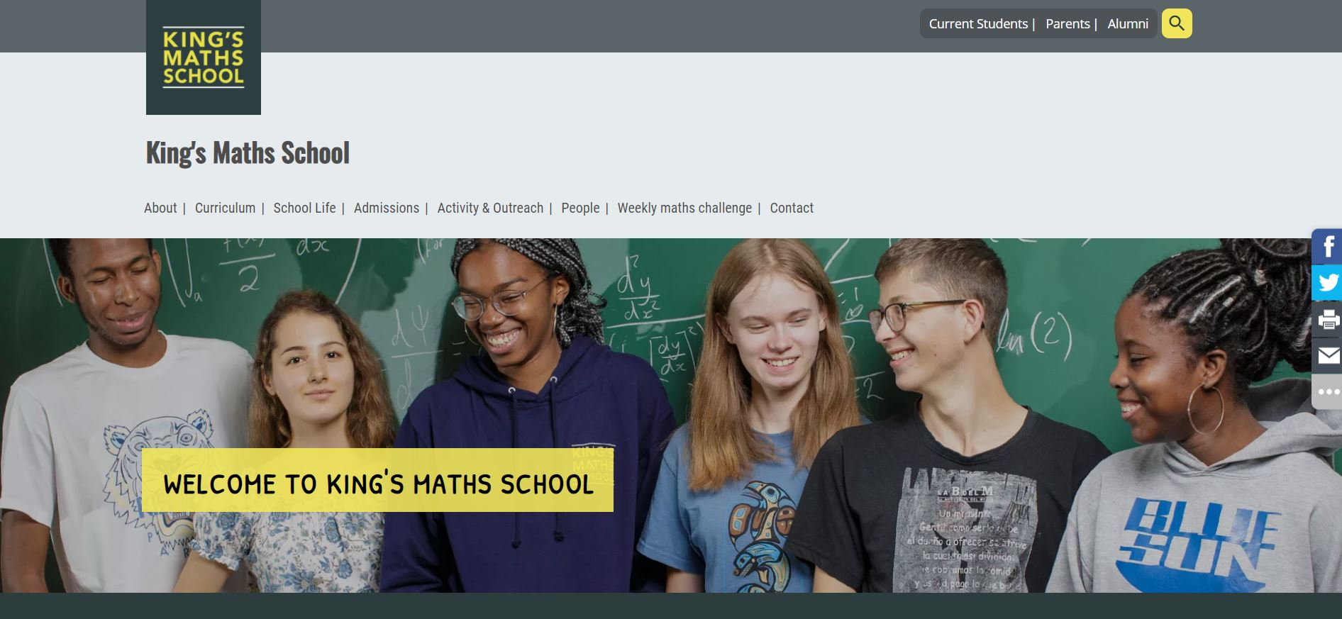 King's College London Mathematics School