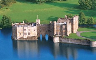 Leeds Castle and the Cliffs of Dover