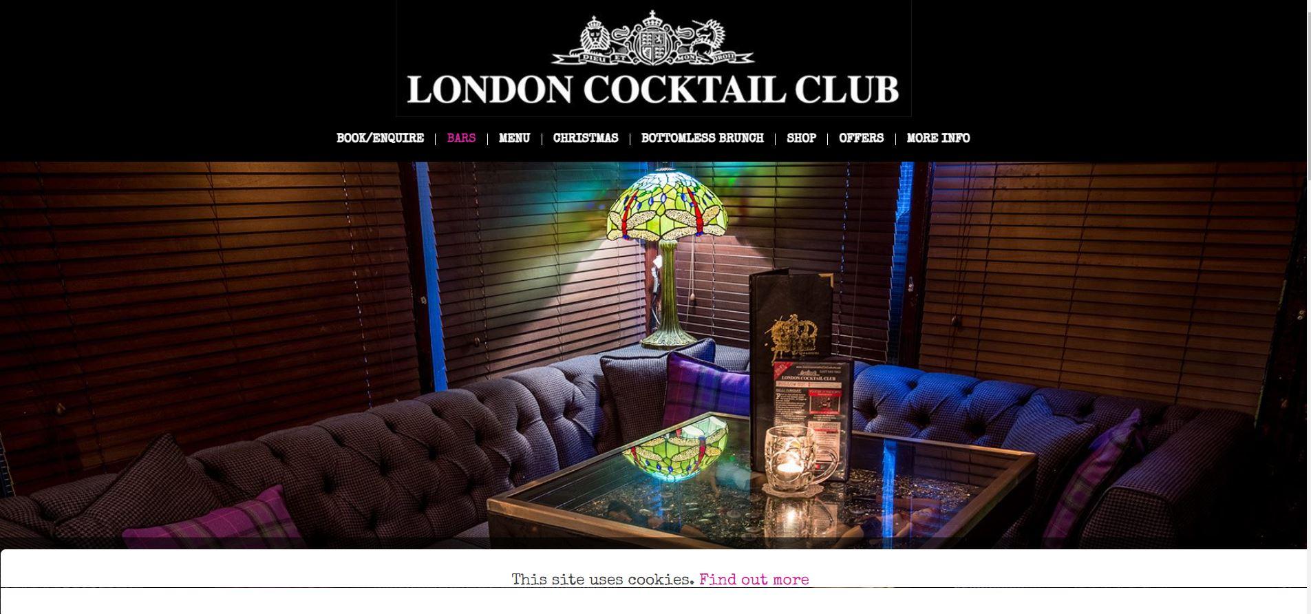 London cocktail club Goodge Street