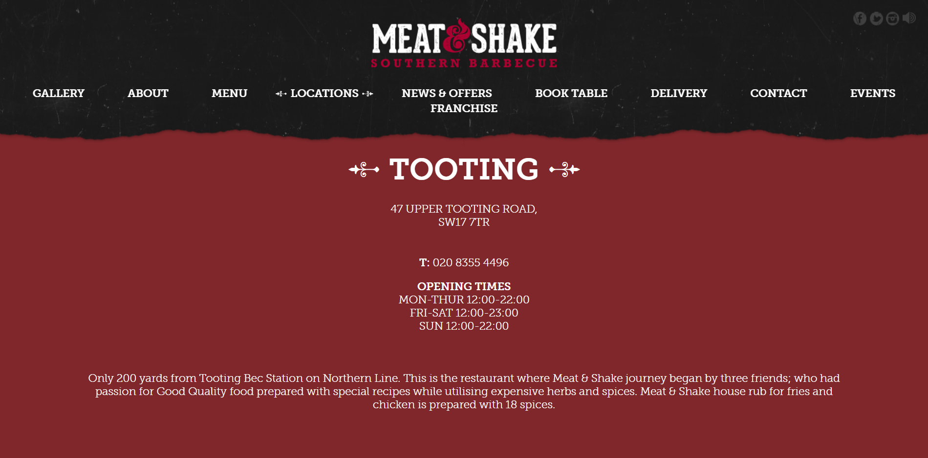 Meat and Shake