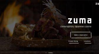 Zuma Japanese restaurant
